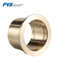 SAE430B brass bushing HTB-1 flanged brass bushing C86300 manganese bronze flange bush