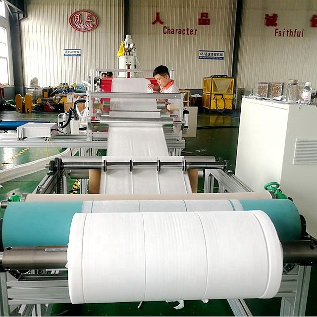 pp melt blown fabric making machine for N95 face mask cloth fabric machine bfe pfe 95+