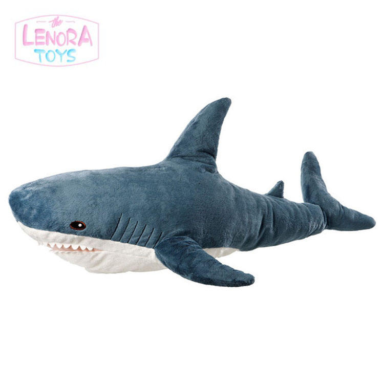 Promotion gift Customized OEM Cute Shark Stuffed Plush Toy Doll For Kid Animal Plush Toys