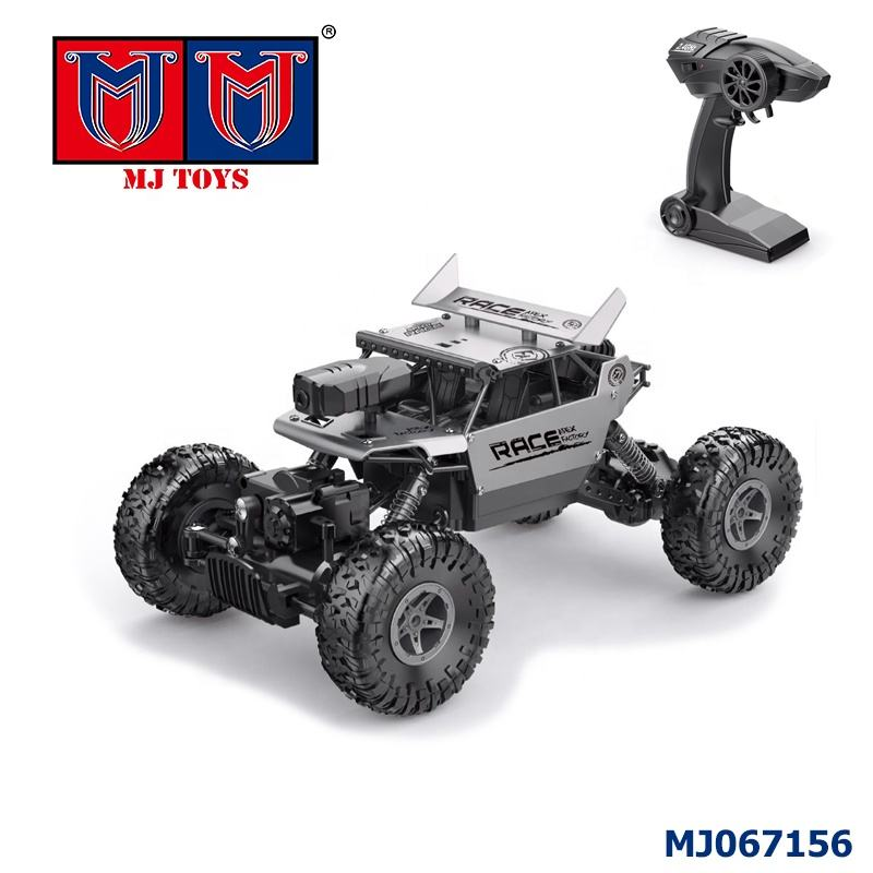 2.4g schaal 4x4 cool wifi controle rock crawler 1/18 rc auto met camera
