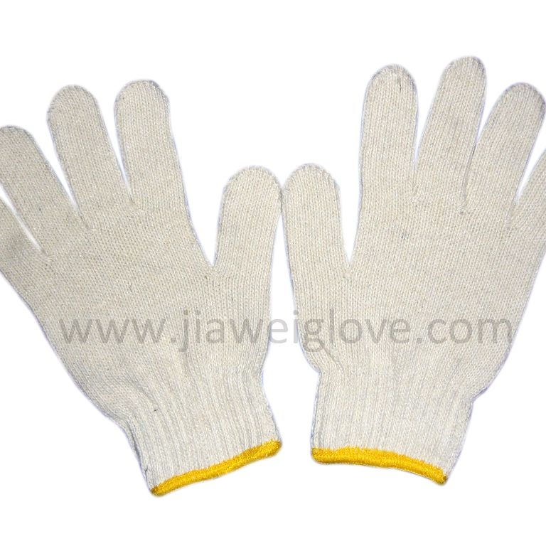 Wholesale Factory Price Cotton Knitted Construction Gloves,