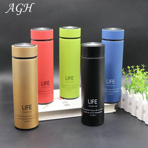 350ml/500ml Life stainless steel 304 insulated tumbler water bottles with lid and tea infuser steel bottle stainless