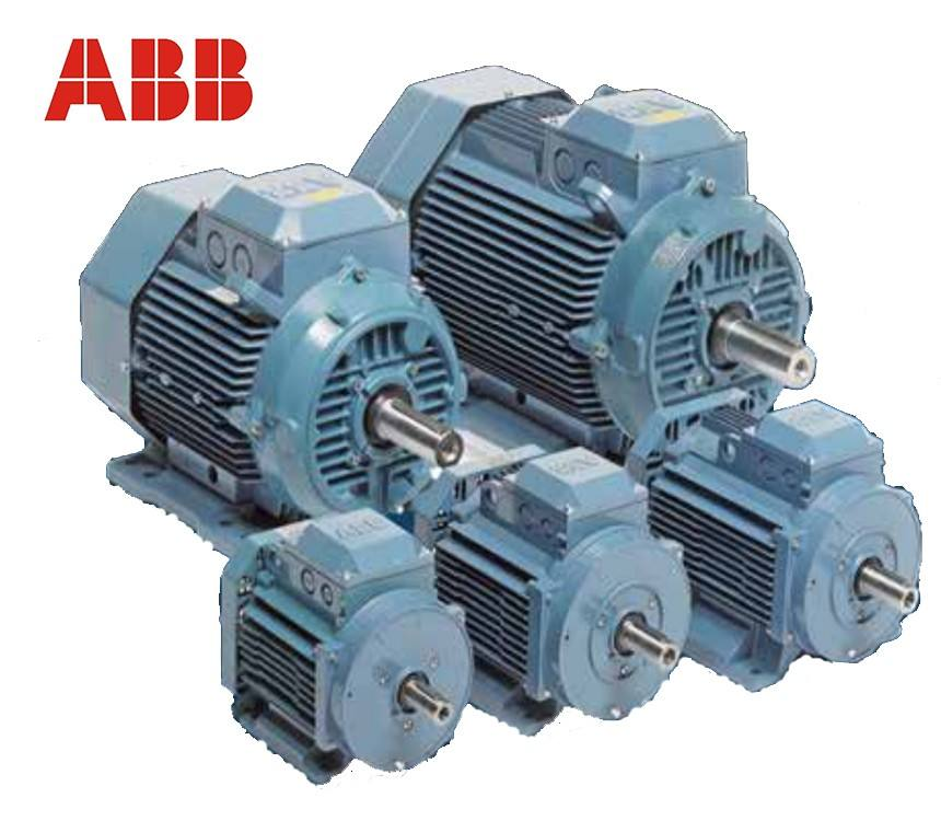 ABB M3AA 0.37KW~37KW IE2/IE3 B3/B5 Low Voltage aluminium ac electric motor