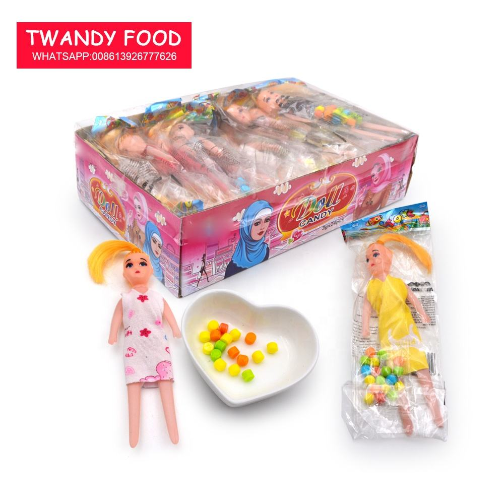 doll toy with candy