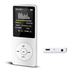 "Fashion design 1.8"" LCD MP4 music Player mp3 player support TF card Video Photo Viewer eBook Read MP4 player"