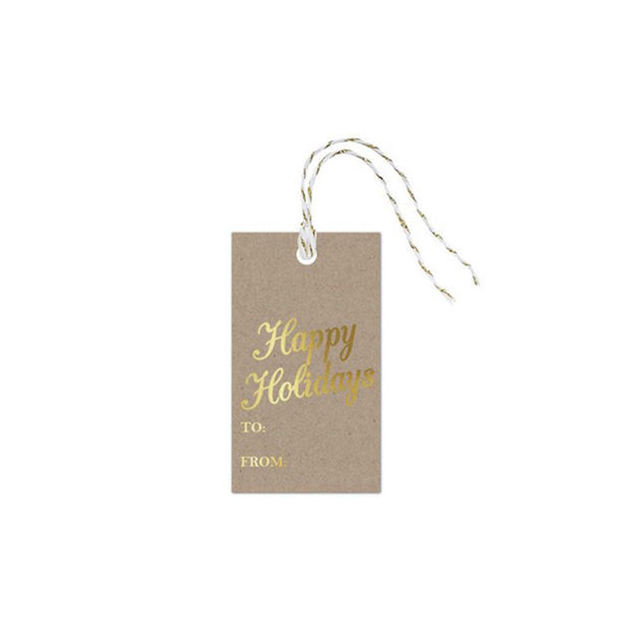 Free design custom brand name printed clothes cardboard string hang tag