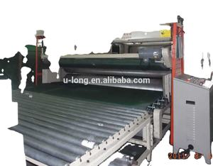 Six Roller Exhaust Pressing Foam Machine