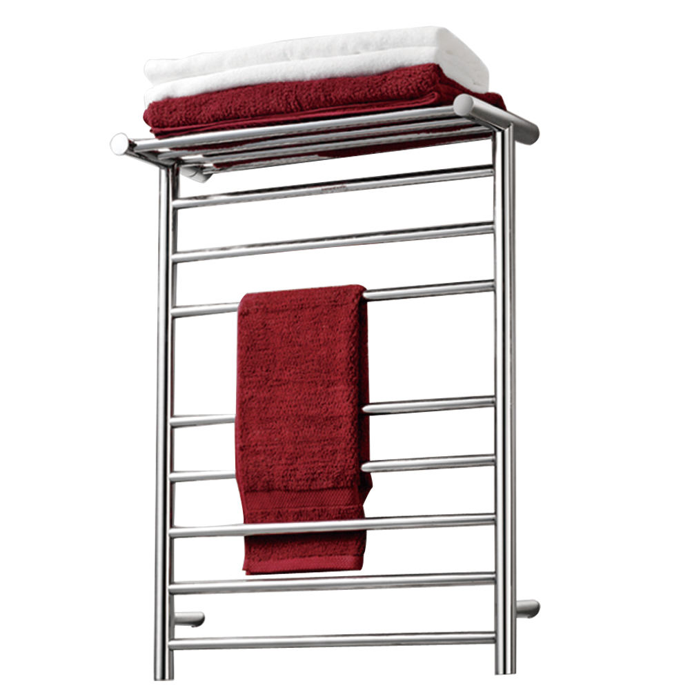 Edeans Heating Cables Type Stainless Steel Electric Towel Warmers, Electric Towel Radiators
