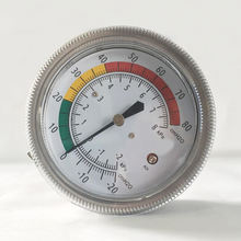 2 Dial kPa +//-3//2//3/% Accuracy 1//4 Male NPT Connection Copper Alloy Wetted Parts Range 0-160 psi WIKA 8990365 Commercial Pressure Gauge Bottom Mount Dry-Filled