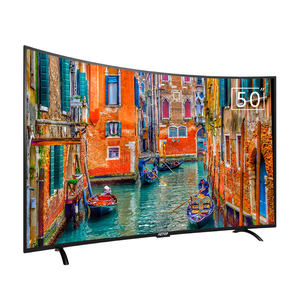 high quality crt tv 50 inch television 2k hd android smart curve tv with cheap price
