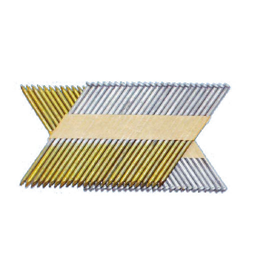 34 degree D-Head Paper Strip Frame Nails, Industrial Frame Nail for wooden, Paneling Frame Nails