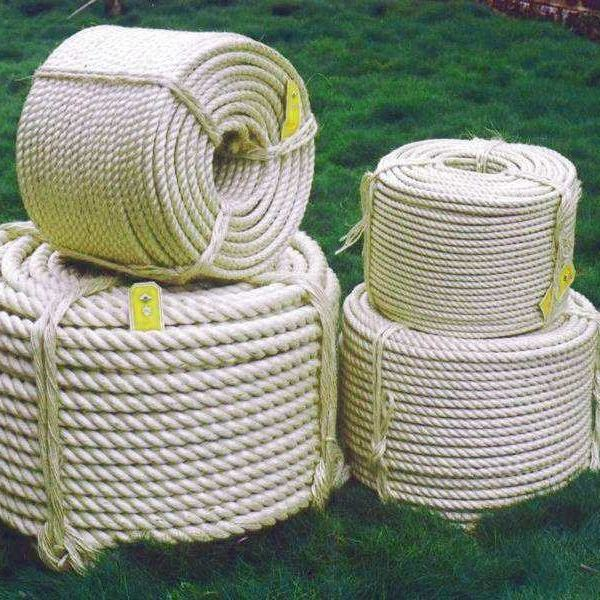 High Quality Natural / White Bulk Sisal Rope