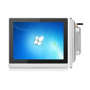 1024x768 intel J1900 WIFI 12 inch capacitieve touchscreen all in one pc industriële computer
