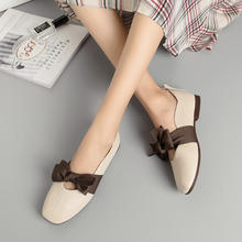 Fashion Autumn Lady Leather Ballet Casual Women s Flats