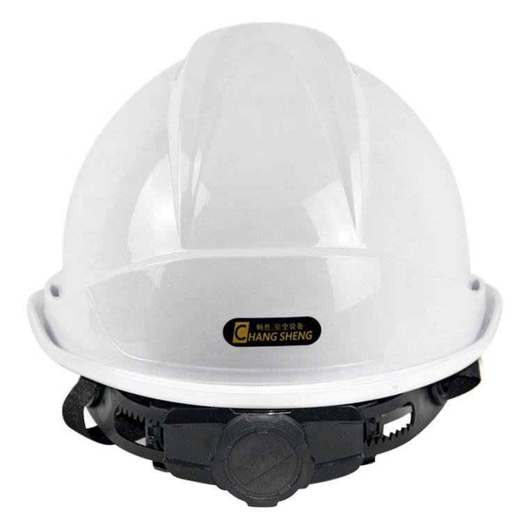Hard Hat With New Rachet Suspension Personal Protective Equipment