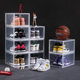 nike sneak shoe boxes clear plastic children boot storage box stackable shoe box organizer with custom logo