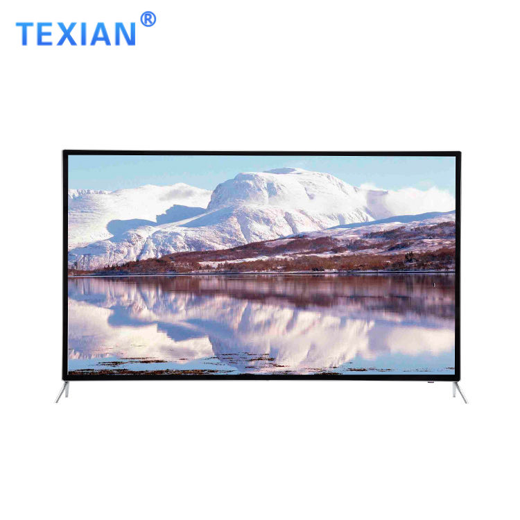 66 inch high resolution 4K LED TV lcd led tv flat screen smart television with explotionproof skill