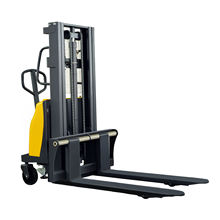 Shanghai Manufacturer Direct Supply Material Handling Equipment 1.0 1.5 Ton Power Semi-electric Stacker