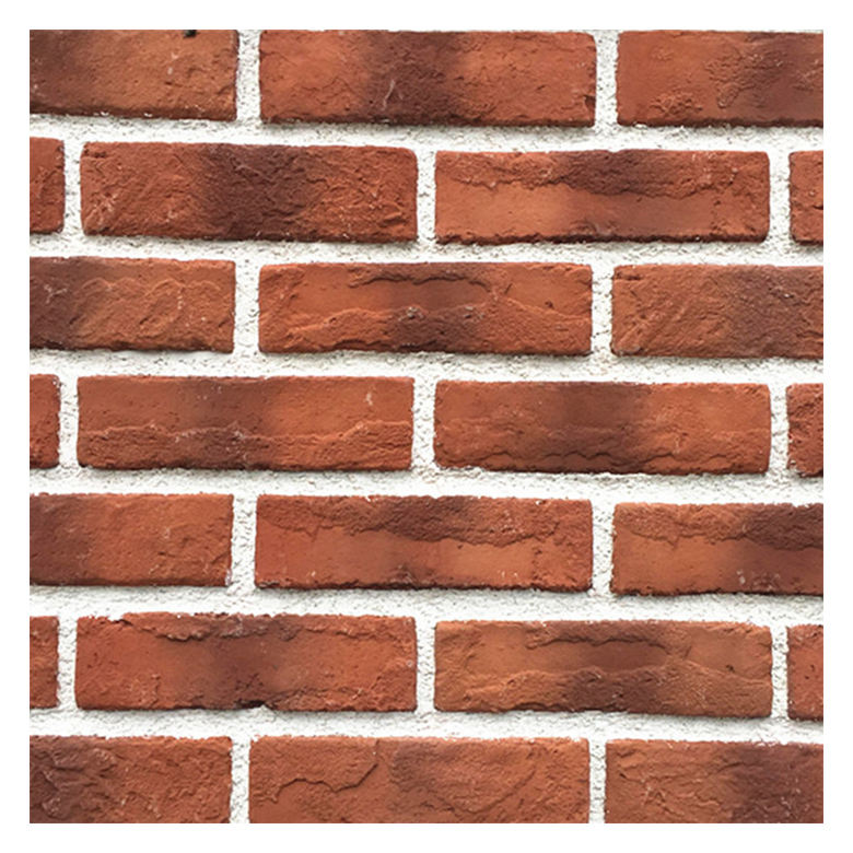 Popular 65mm antique red brick panel front house outdoor panel interior decorative brick wall