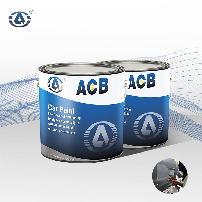 Acrylic [ Paint ] Paint Paint ACB Matt Black Paint For Car Coating Paint