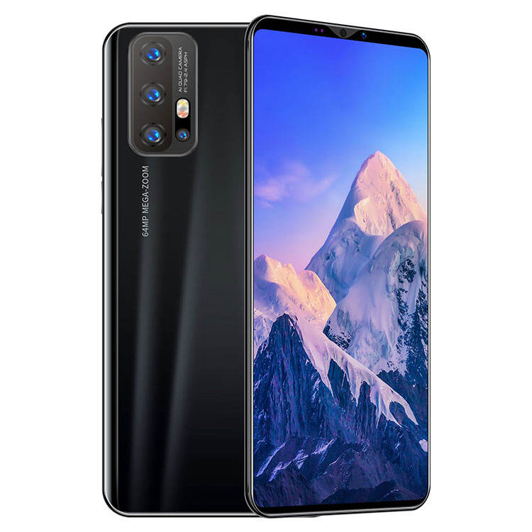 Z6 Pro 5.8インチFull Screen携帯電話スマートフォン4 + 64GB Android10.0 8Core Double sim Card Face IDとFingerprint ID