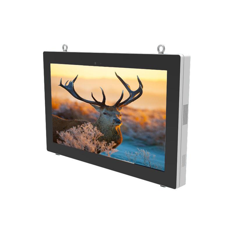 Outdoor 55 Pollici Lettore Multimediale Monitor <span class=keywords><strong>Lcd</strong></span> Digital Signage Montaggio a Parete a Bassa Temperatura di Lavoro a Prova di Polvere Telaio