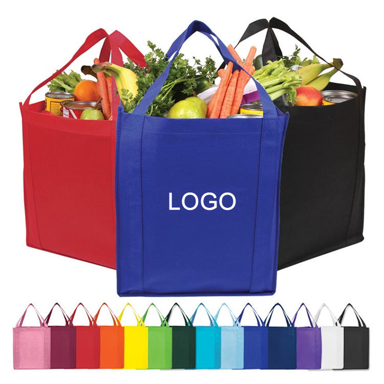 Bag Promotional Promotion Logo Custom Printing Eco-friendly Reusable Non Woven Ecological Bags