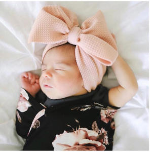 Feiyou hot selling wholesale fashion baby Newborn Infant Toddler Hair Accessories baby headbands turban knotted girl's hairband