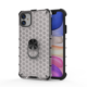 Creative Design Cooling Honeycomb Design 360 Degree Rotatable Metal Ring Kickstand Phone Case For Xiaomi redmi 9 Back Cover