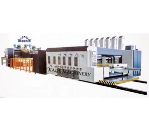 Fully Automatic Corrugated Carton Cardboard Printing Slotting Die-cutting Machine/Automatic Corrugated Box Making Machine