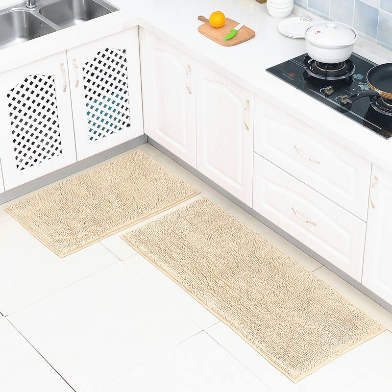 New design shaggy anti-slip cushioned loop floor carpet