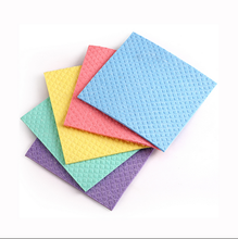 70% Cellulose 30% Cotton Kitchen Clean Printed Sponge Cloth From Germany