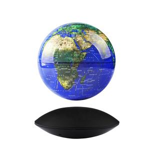 360 Degree Electronic Magnetic Levitation Rotating Earth Globe With LED Light