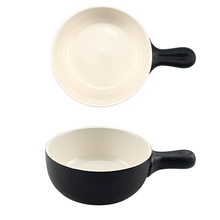 Wholesale black iron appearance ceramic bakeware ovenware backing pans cooking dish baker