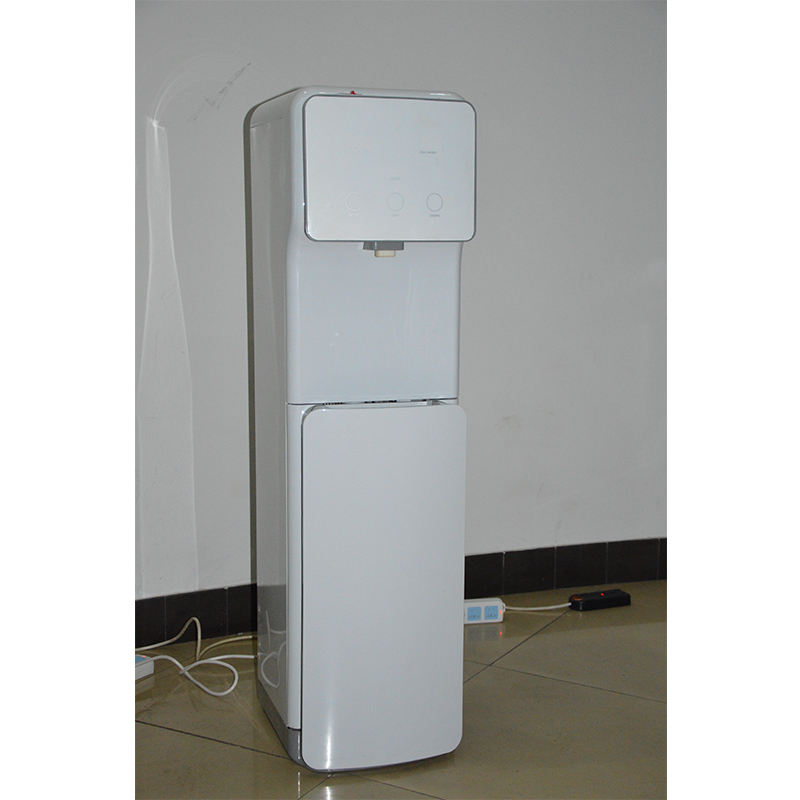 New Design Top Loading Freestanding Water Dispenser with Storage Cabinet Two Temperature Settings