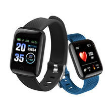 116 Plus Smart Watch Band Sports Fitness Tracker IP67 Waterproof 116plus Smartwatch D13 Smart Bracelet with Heart Rate