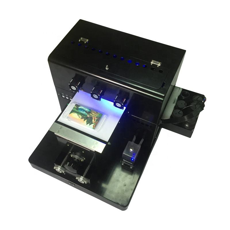 Offset Led UV Digital Inkjet a4 uv Flatbed Printer