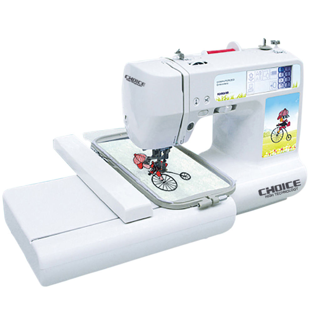 Golden Choice GC890B Household Portable Factory Price Multi-function Domestic Computerized Pattern Embroidery Sewing Machine