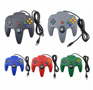 Wired Für N64 Gamepad Joypad Gaming Joystick Für Gamecube Mac Gamepads PC Spiel controller