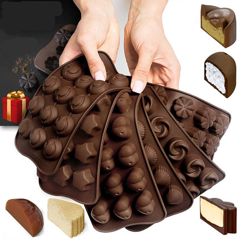 Hot Sale DIY FDA LFGB Non-stick Easy Release cake mold chocolate silicone moulds
