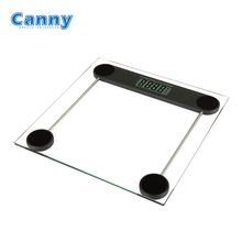 Canny Clear glass 180kg electronic digital weighting scales weight body scale