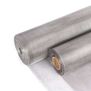 Factory sale 200 micron plain weave 304 stainless steel wire mesh for filtration