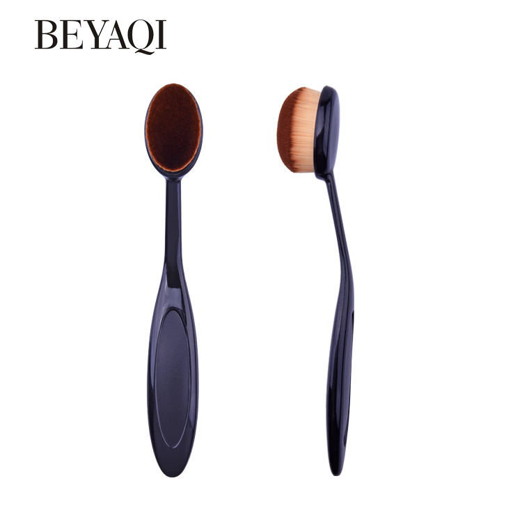 Custom High Quality Private Label Makeup Flat Foundation Brush Set