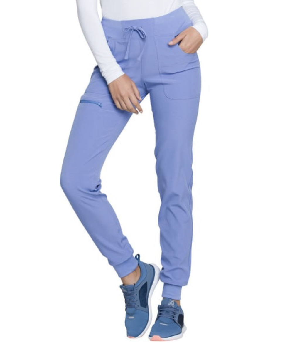 Women's The Jogger Low Rise Tapered Leg Scrub Pant Medical Hospital Uniform Medical Scrub Pant