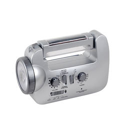 self powered  emergency light radio with solar power and mobile phone charging LED lamp radio and solar charger