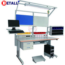 Detall esd computer repair multifunctional workbench of steel standard
