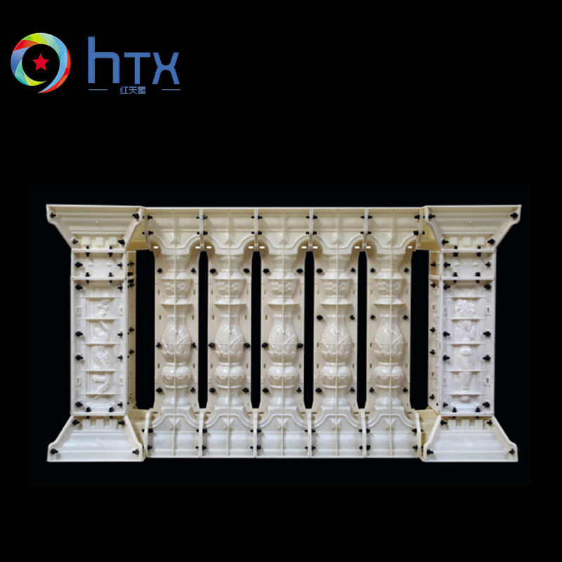 Europe type concrete plastic balustrade mould for sale