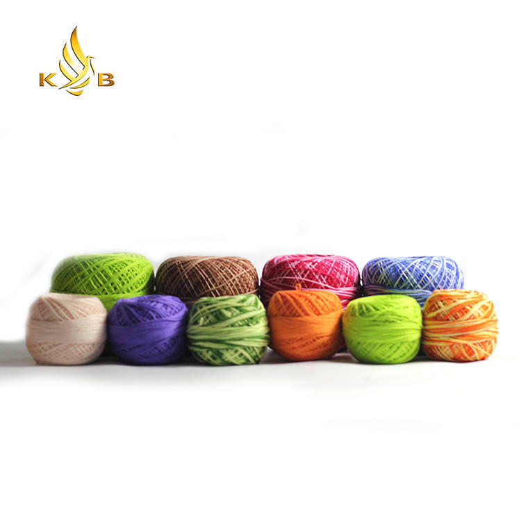 100% cotton mercerized crochet thread and yarn