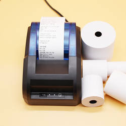 Cheap 3 1/8 thermal paper roll printer paper size 4 inches