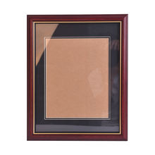 Brown Wood Crafts Photo Frame A4 Certificate Diploma Frame